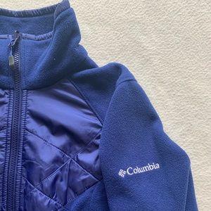 Columbia zippered fleece